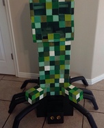 Minecraft: Creeper riding a Spider DIY Costume