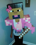 Minecraft Girl' Homemade Costume