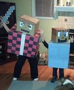 Minecraft Mayhem Homemade Costume