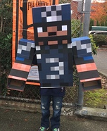 Minecraft Russell Wilson Homemade Costume