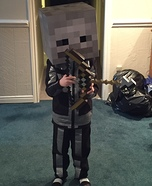 Minecraft Skeleton Homemade Costume