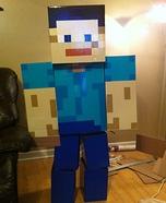 Minecraft Steve Homemade Costume