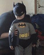 Homemade Batman Costume for Babies