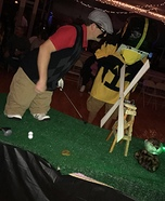Mini Caddyshack Homemade Costume