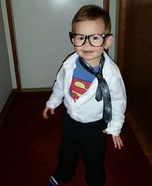 Mini Clark Kent Homemade Costume