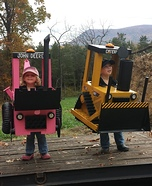 Mini Earthmovers Homemade Costume