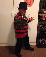 Mini Freddy Kreuger Homemade Costume