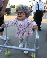 Mini Grandma Homemade Costume