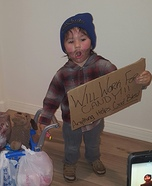 Mini Hobo Homemade Costume