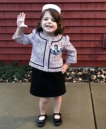 Mini Jackie Kennedy Homemade Costume
