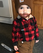 Mini Lumberjack Homemade Costume