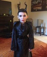 Mini Maleficent Homemade Costume