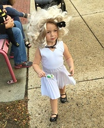 Mini Marilyn Monroe Homemade Costume