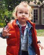 Mini Marty McFly Homemade Costume