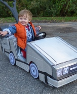 Mini Marty McFly Baby Homemade Costume