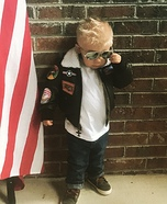 Mini Maverick Homemade Costume