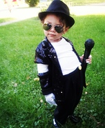 Mini Michael Jackson Homemade Costume