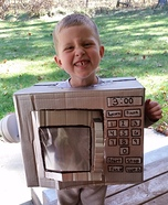 Mini Microwave Homemade Costume