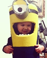 Mini Minion Homemade Costume