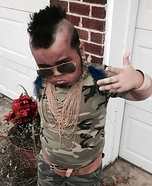 Mini Mr. T Homemade Costume