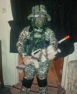 Mini Navy Seal Homemade Costume