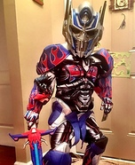 Mini Optimus Prime Costume
