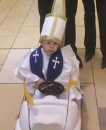 Mini Pope Homemade Costume