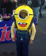 Homemade Minion Costume Idea for Kids