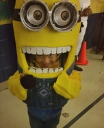 DIY Minion Costume for Kids