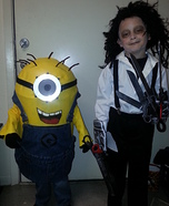 Minion and Edward Homemade Costumes