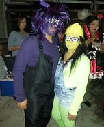 Minion and Evil Minion Couple Costume