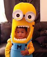 Minion Baby Homemade Costume