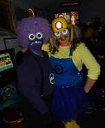 Minion Dave and El Macho Minion Homemade Costume