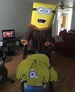 Minion with Bananas Costume