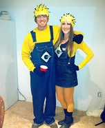 Minions Couple Homemade Costume