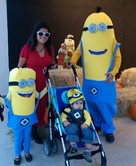 Minions Family Homemade Costume