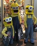 Minions: Stuart, Kevin & Bob Homemade Costume
