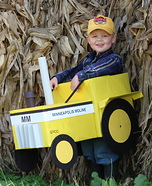 Minneapolis Moline Tractor Driver Homemade Costume