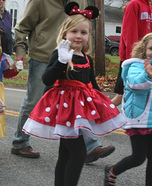 Homemade Minnie Costume
