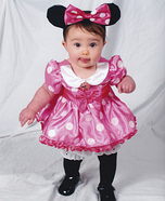 Cute Minnie Mouse Baby Costume