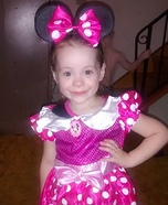 Minnie Mouse Homemade Costume