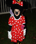 Minnie Mouse Costume for Girl