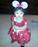 Baby Minnie Mouse Halloween Costume