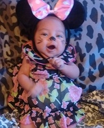 Easy Minnie Mouse Baby Costume