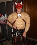 Homemade Minotaur Costume