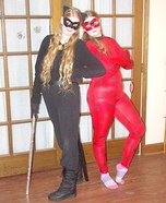 Miraculous Ladybug and Cat Noir Homemade Costume