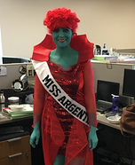 Miss Argentina Halloween Costume Idea