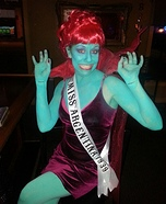 Miss Argentina from Beetlejuice Homemade Costume
