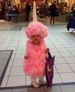 Miss Cotton Candy Homemade Costume