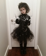 Miss Edward Scissor Hands Homemade Costume